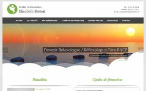 Centre de Formation Réflexologie et Relaxologie - Elisabeth Breton
