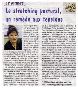 stretching postural - presse Yvelines